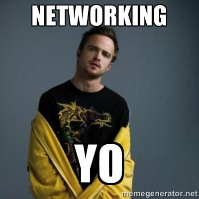 LinkedIn connections networking meme