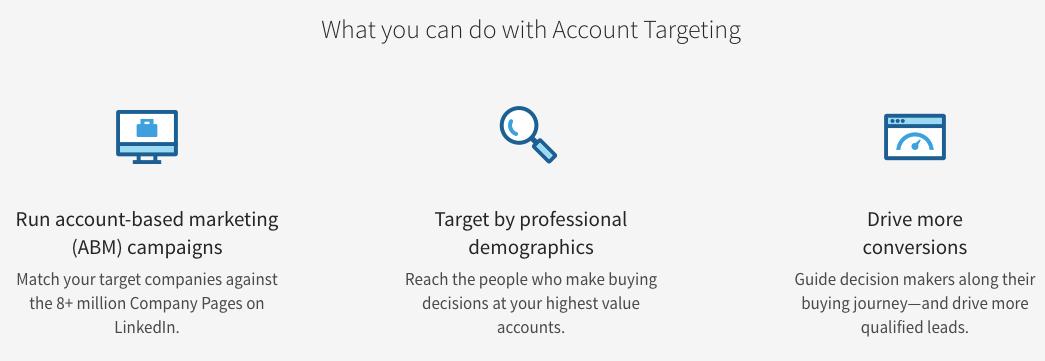 using linkedin for account based marketing