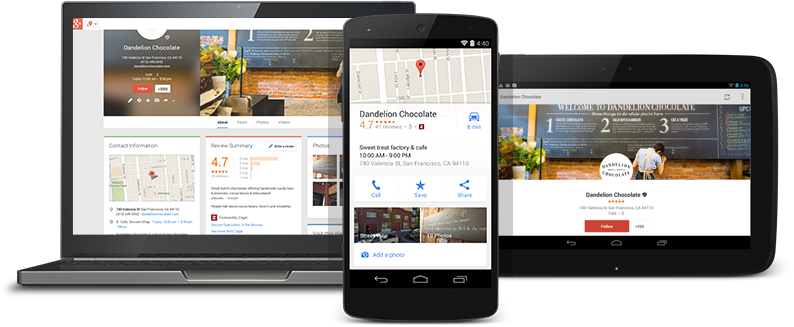 Local marketing tips Google My Business listing example