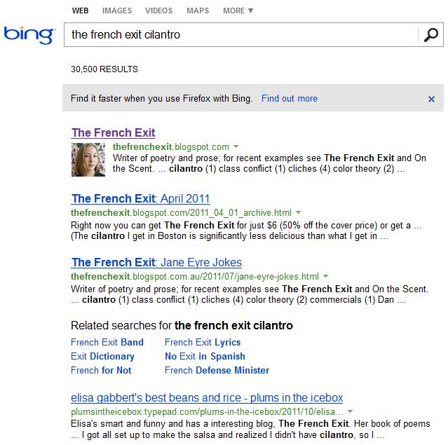 Long-Tail Bing