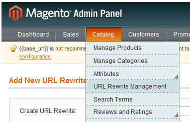 Magento URL Rewrite Management