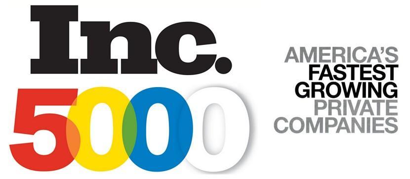 Marketing awards Inc 5000