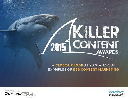 Marketing awards Killer Content Awards 2015