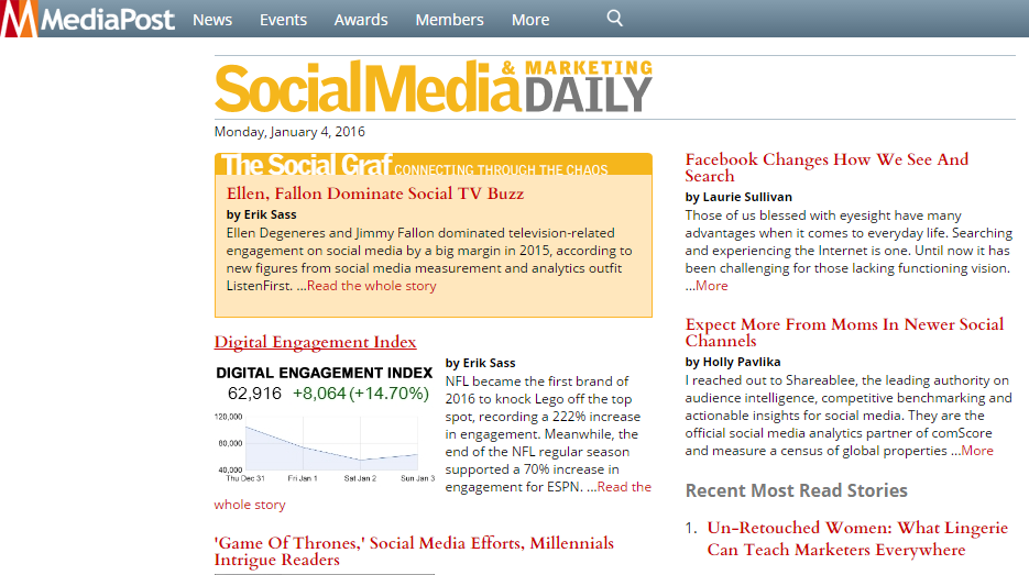 Marketing news MediaPost