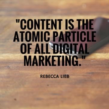 Marketing quotes Rebecca Lieb