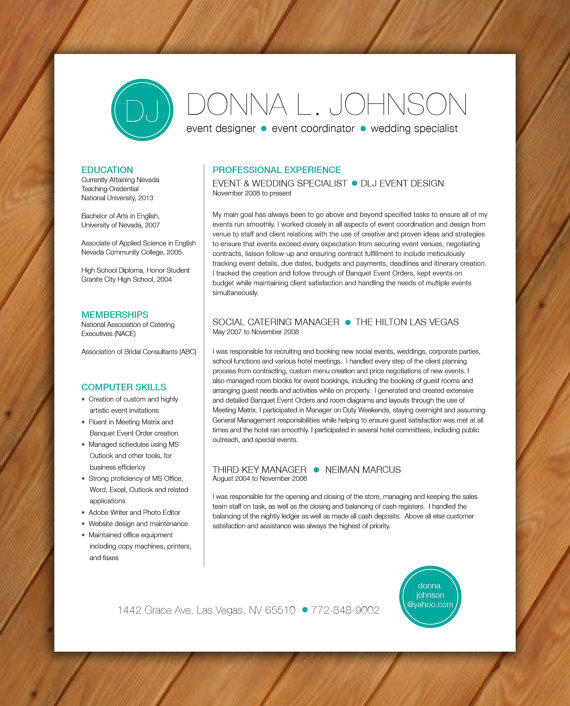 marketing resume template - Marketing Resume Template