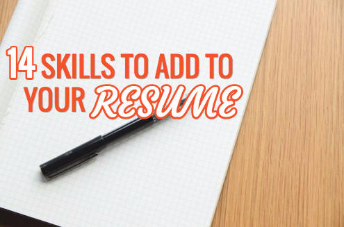 skills to add to a resume