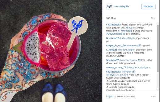 sauza tequila instagram post