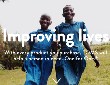 toms social responsibility