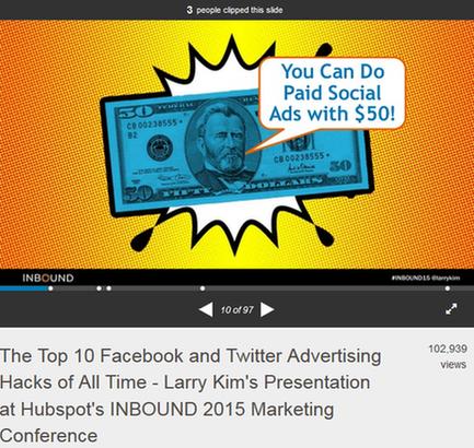 marketing webinar slides