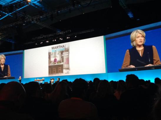 Martha Stewart Inbound conference presentation