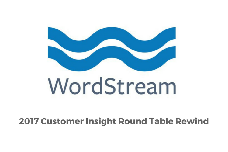 Customer Insight Round Table WS
