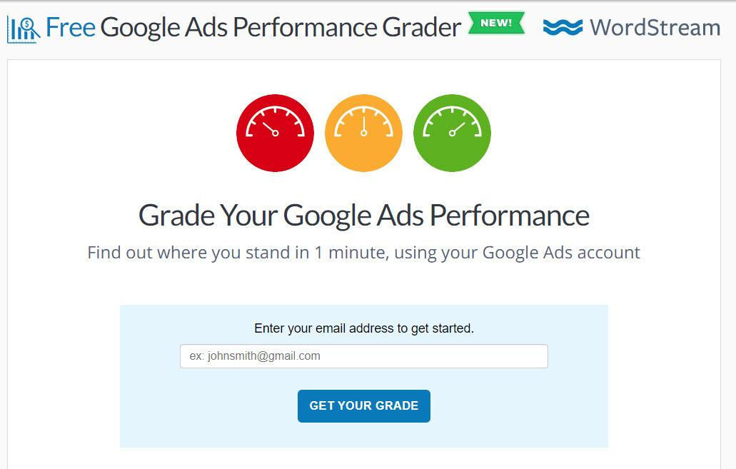 Google Ads Performance Grader