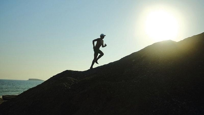 marathon running image