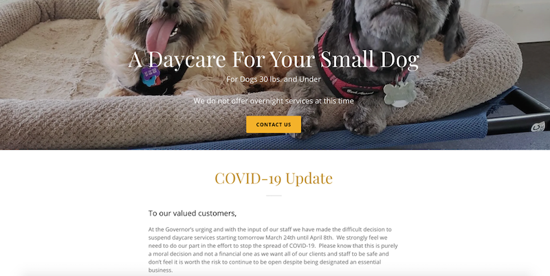 Navigating COVID-19- A Simplified Guide for the SMB daycare homepage