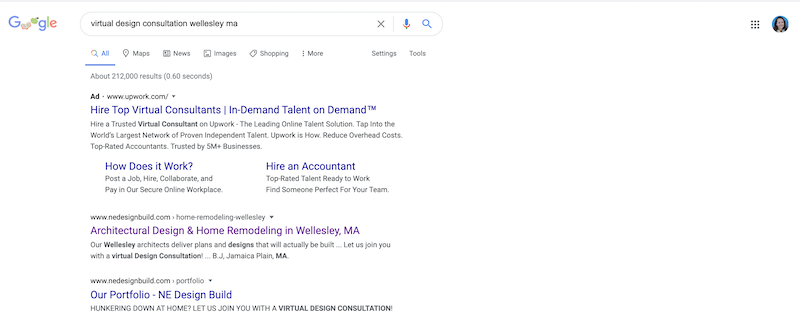 SMB SEO during COVID-19 virtual design trending theme