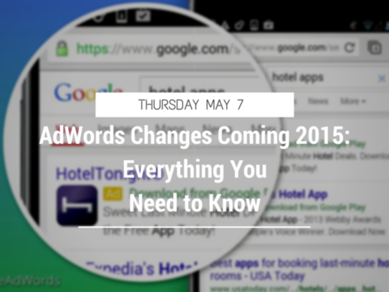 2015 changes adwords