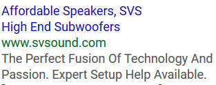adwords ad suggestion example a