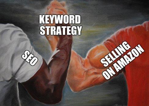 amazon-keyword-research-two-arms-meme