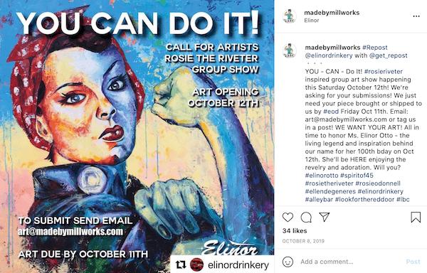 august marketing ideas—spirit of 45 day instagram post