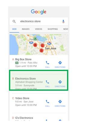 automated ad extensions location example