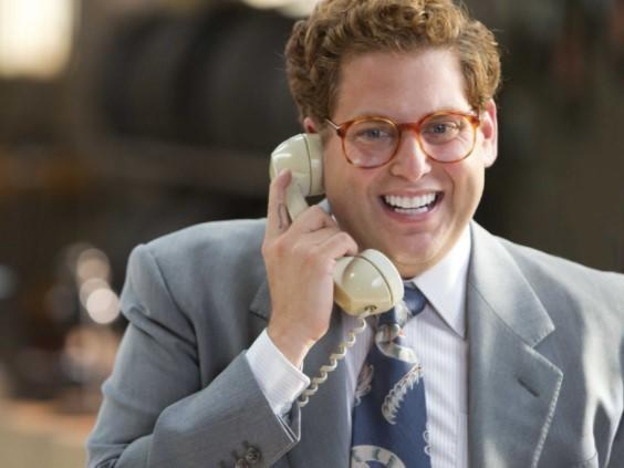 cold calling in The Wolf of Wall Street