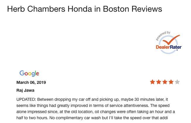 automotive marketing customer reviews