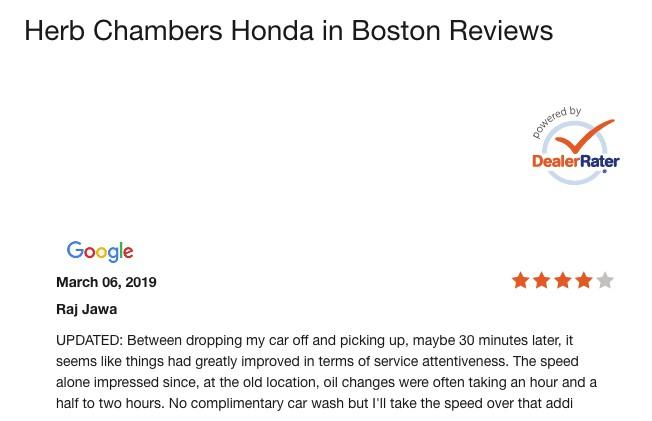 automotive marketing customer reviews