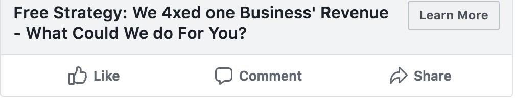 B2B Facebook ad strategy