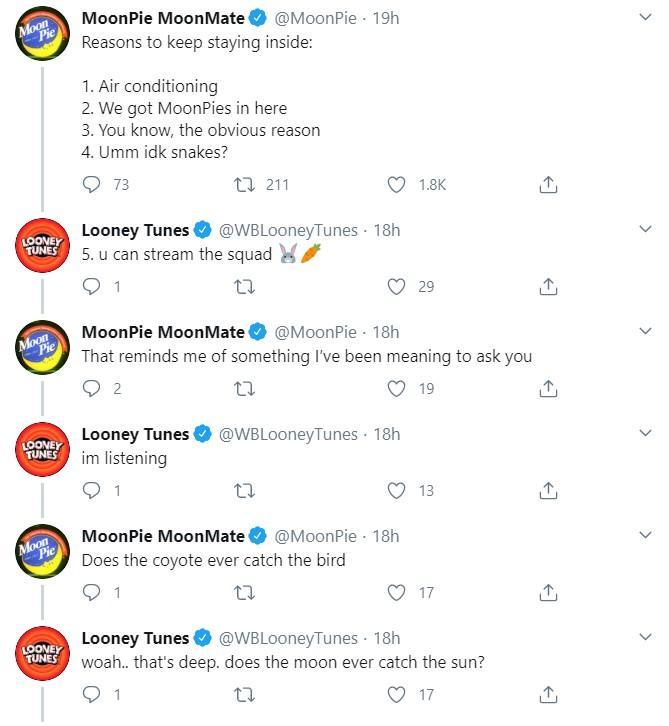 MoonPie tweets