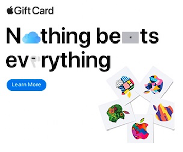 best display ads of 2020-apple gift card example 2