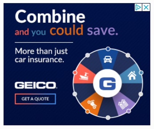 best display ads of 2020-geico example square banner ad