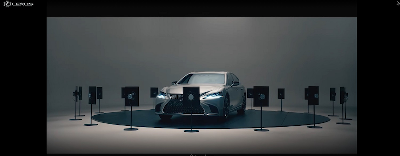 best display ads of 2020-lexus landing page example