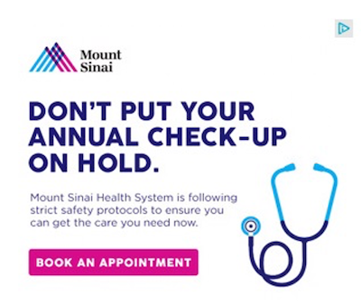 best display ads of 2020-mount sinai example