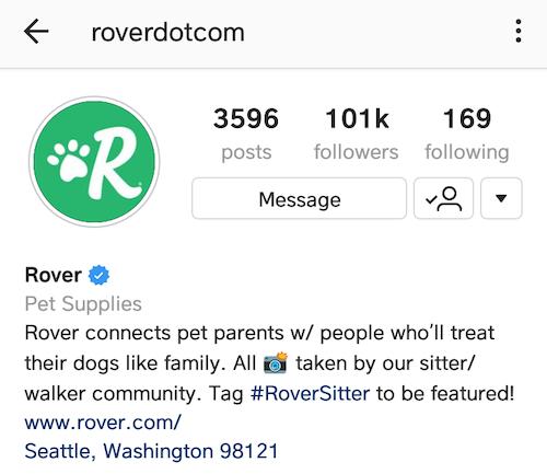 best instagram bios rover