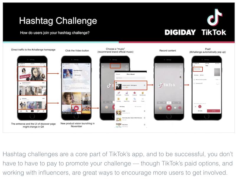 melhores estratégias de marketing do desafio de hashtag tiktok de 2021