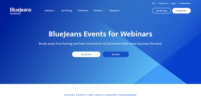 best webinar platforms 2020 bluejeans