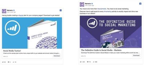 Examples of Facebook ads
