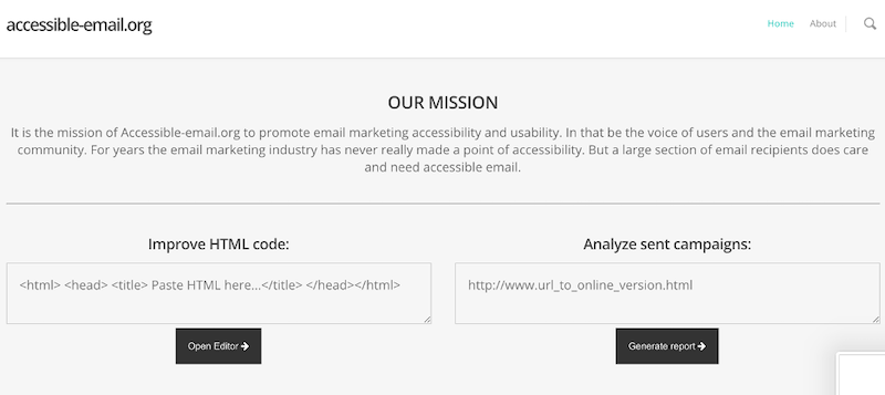 best practices for email design accessibility coding