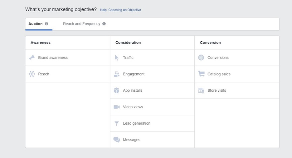 best practices for facebook traffic ads 2021 facebook ad objectives