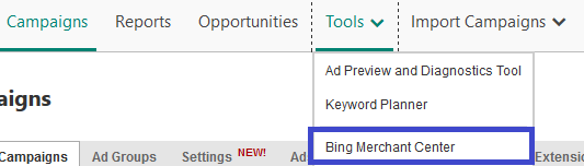merchant-center-bing-ads-scheduled-imports