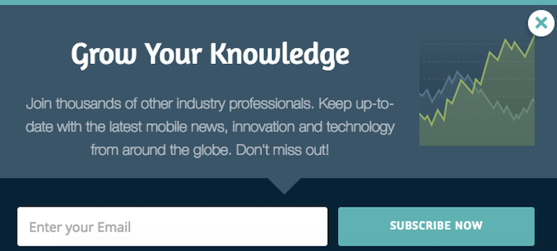 call to action examples for email newsletter signups SMS global
