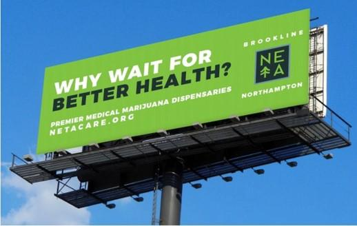 cannabis marketing billboard example