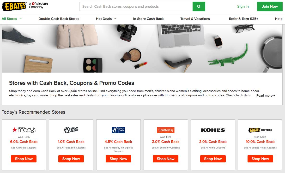 cashback affiliate coupon programs