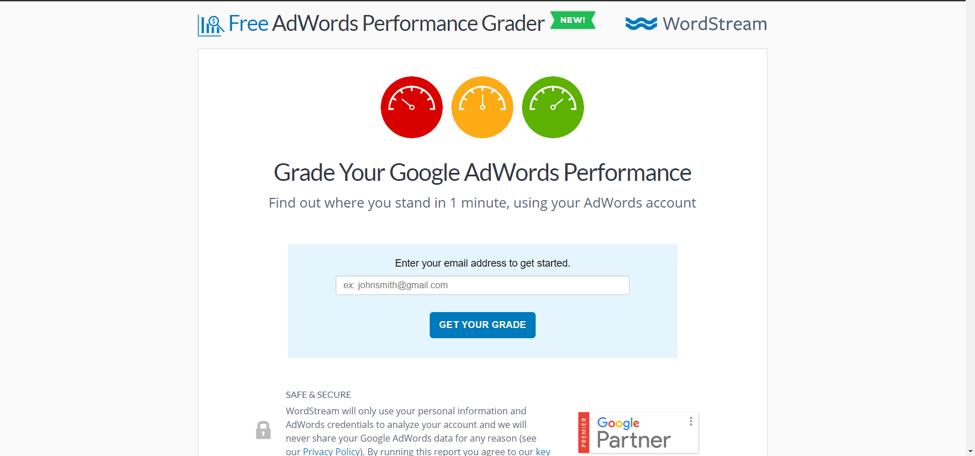 cost-per-sale-google-ads-grader