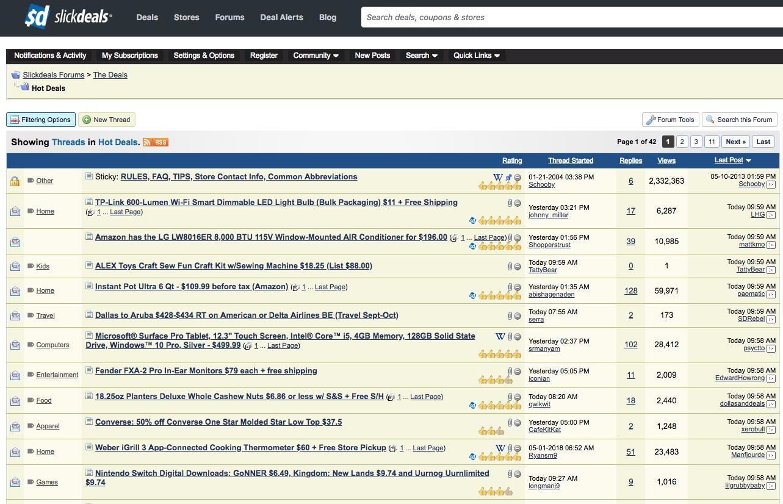 coupon affiliate forums