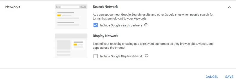 Google Ads networks