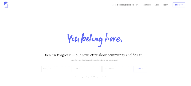 creative newsletter names in progress