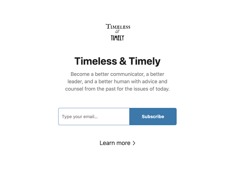 creative newsletter names timeless and timely