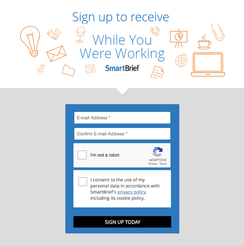 creative newsletter names while you were working